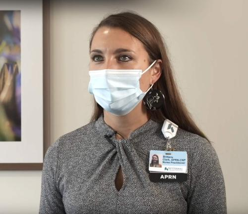 Brittany K. Clark, APRN-CNP gives a health chat on BPH