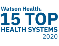 Watson Health 15 Top Health Systems Badge