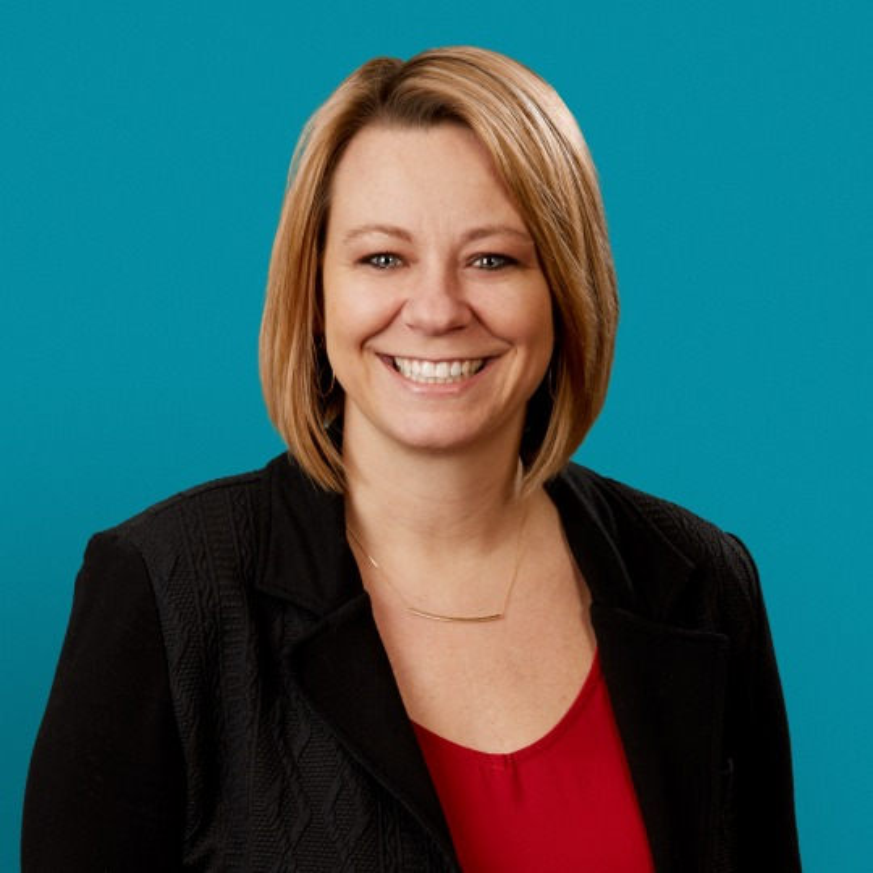 Kelly Walsh smiling
