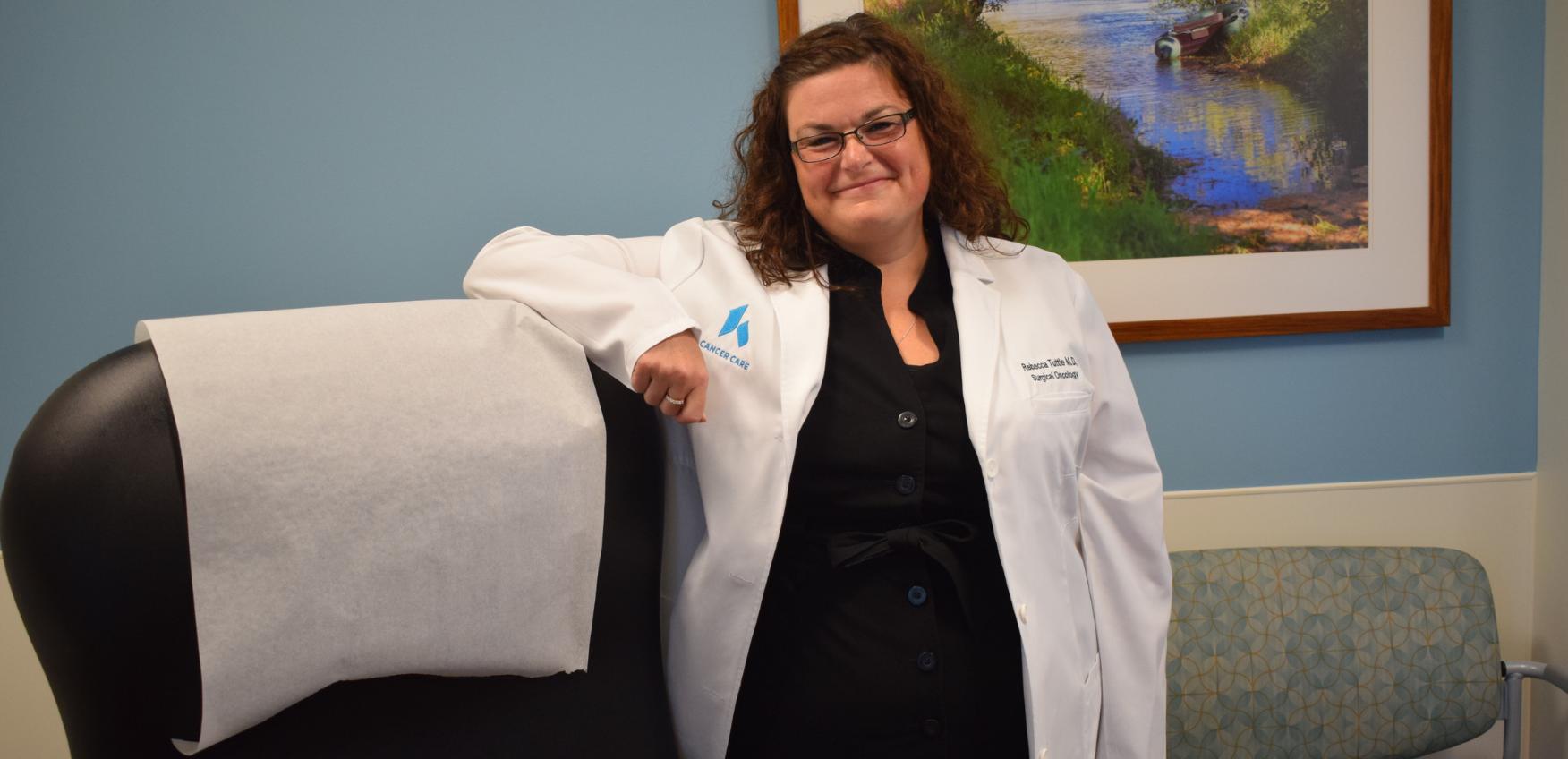 Dr. Tuttle in Patient Room