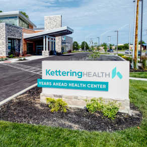 Entrance to Years Ahead Health Center in Kettering