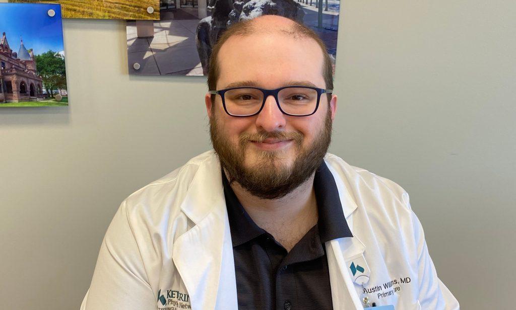 Dr. Austin Williams for Men's Health
