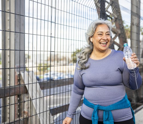 A woman uses exercise to ease joint pain