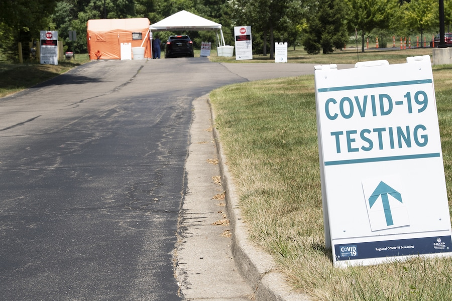 COVID-19 Testing Site at Southview Medical Center