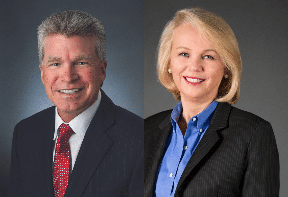 new president of kettering health wally sacket and president of kettering medical center Sharlet Briggs